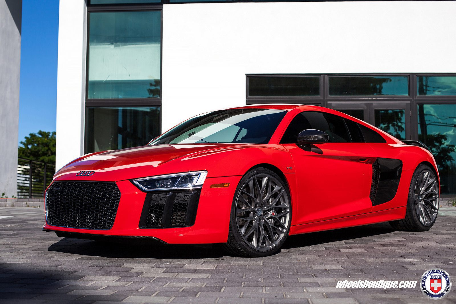 Gorgeous Red Audi R With HRE Wheels By Wheels Boutique My Car Portal - Red audi r8