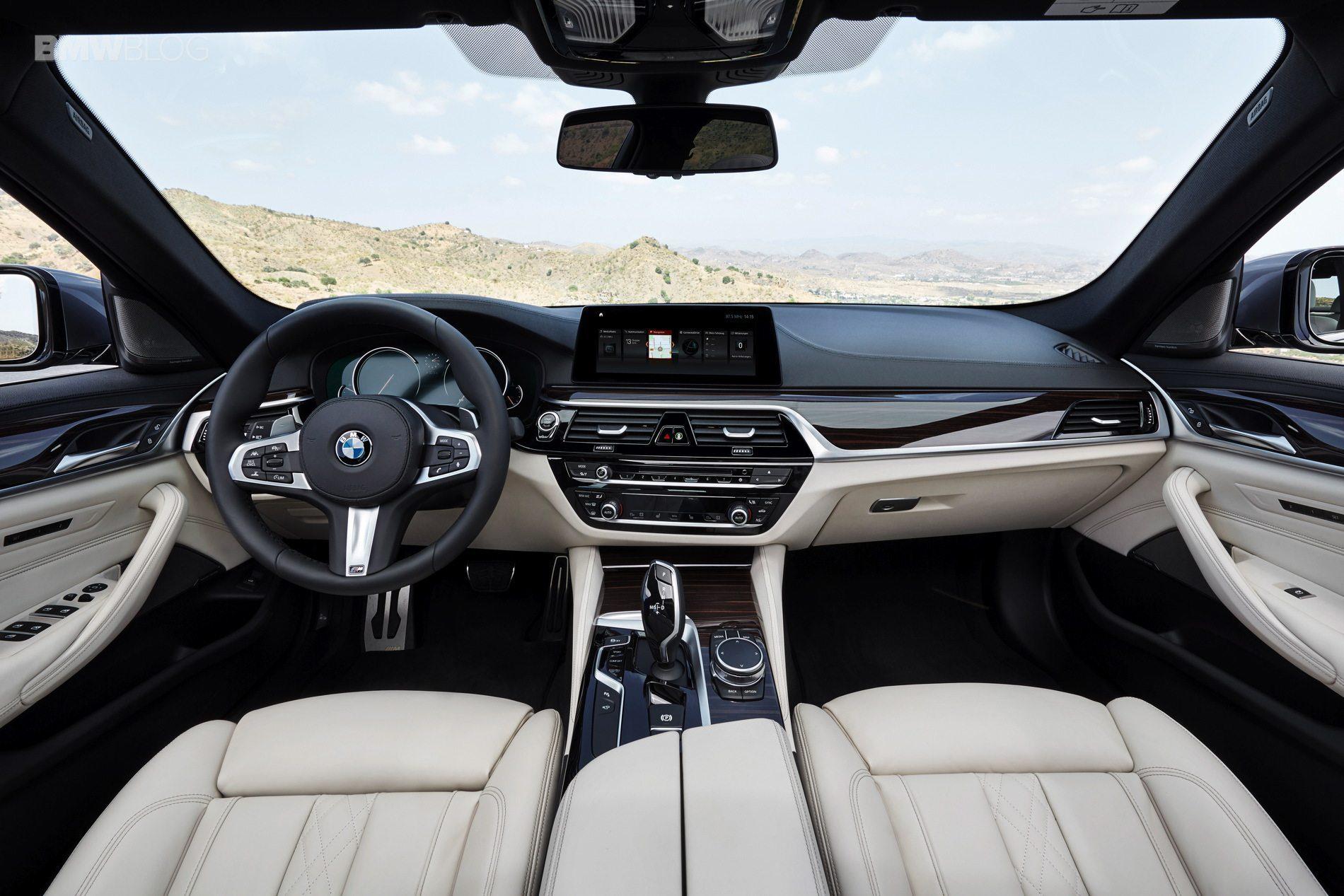Bmw G30 5 Series M Sport Interior 26 My Car Portal