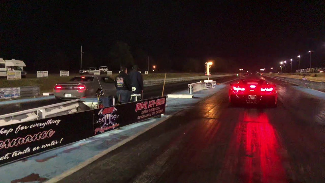 Videos Watch A Corvette Zr1 Smoke A Dodge Demon On The